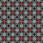 Abstrakte Ventilatoren Vektor Ornament