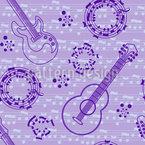 Akustische Gitarren Liebe Musterdesign