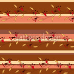 Autumn Sripes Seamless Vector Pattern Design