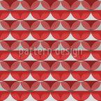 Listras ou círculos Design de padrão vetorial sem costura