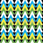 Dreiecke zum Verrückt werden Nahtloses Vektormuster