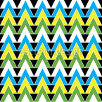 Triangles Become Mad Seamless Vector Pattern Design