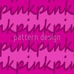 E o Pink Design de padrão vetorial sem costura