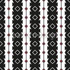 Listras Serrilhadas Design de padrão vetorial sem costura