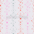 Modern Ink Ornaments Seamless Vector Pattern Design
