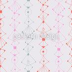 Moderne Tinten Ornamente Nahtloses Vektormuster