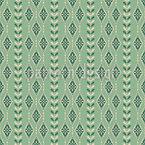 Vintage Schneeflocken Streifen Vektor Design