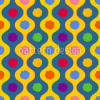 Cheerful Bright Stripes Seamless Vector Pattern Design