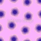 Abstrakte Blüten Vektor Muster