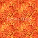 Herbst-Ahorn-Blätter Nahtloses Vektormuster