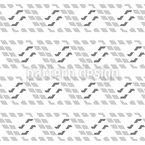 Stilisierte Wellen Nahtloses Vektor Muster