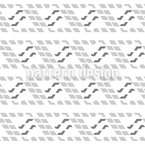 Stylized Waves Seamless Vector Pattern Design
