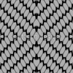 Linked To Rhombuses Seamless Vector Pattern Design