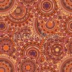 曼荼羅カーニバル シームレスなベクトルパターン設計