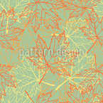 Maple Forest Pattern Design