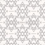 Azteken Geometrie Nahtloses Vektormuster