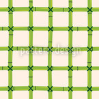 Bamboo Net Seamless Vector Pattern Design