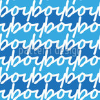Its A Boy Seamless Vector Pattern Design