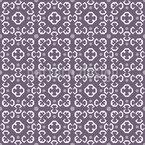 Antike Zurückhaltende Schönheit Nahtloses Muster