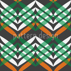 In Zigzag Course Seamless Vector Pattern Design