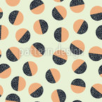 Memphis decorated balls Pattern Design