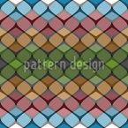 Harmonioso Entre Eles Design de padrão vetorial sem costura