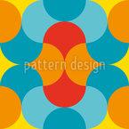 Freundliche Runde Formen Rapportiertes Design