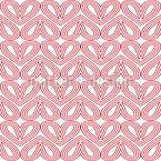 Herzen Seite An Seite Vektor Muster