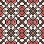 Crosswise Tiled Seamless Vector Pattern