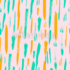 Abstract Brushstrokes Repeat Pattern