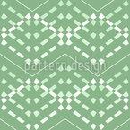 Costuras decorativas Design de padrão vetorial sem costura