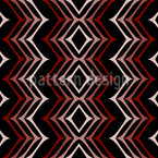In Zigzag Step Seamless Vector Pattern Design