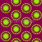 Sonniges Mandala Vektor Design