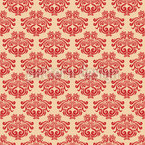 Decorative Baroque Seamless Vector Pattern Design