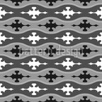Entlang Gewellt Muster Design