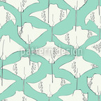 Stingrays Seamless Vector Pattern Design