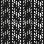 Quadratischer Wolkenkratzer Nahtloses Vektormuster