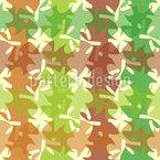 Autumnal Square Pattern Design