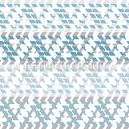 Rhombische Bordüre Nahtloses Vektormuster