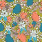 Waldboden-Blüten Rapport