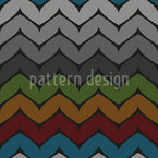 Zigzag In Stripes Seamless Vector Pattern Design