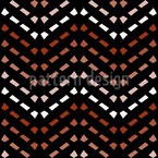 Acurate Up and Down Seamless Vector Pattern Design