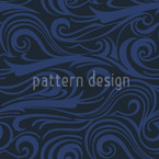 Brisk Waves Ozeania Pattern Design