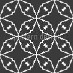 Compoundment Of Stars Seamless Vector Pattern Design