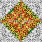 Mosaik Felder Nahtloses Muster