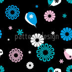 Flowerpower Seamless Vector Pattern Design