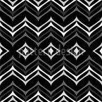 Inbetween Zigzag Seamless Vector Pattern Design