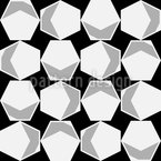 Inside The Hexagon Seamless Vector Pattern