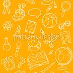 Dekorative Schulsachen Vektor Design