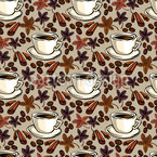 Feeling Of Coffee Seamless Vector Pattern Design